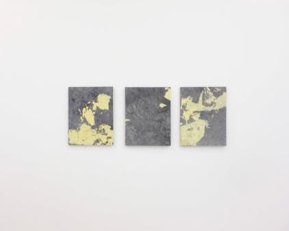 Ruben Brulat, Untitled, 40x60cm each, mixed media on cotton, 2016