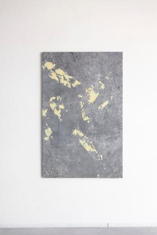 Ruben Brulat, untitled, mixed media on canvas, 90X145cm