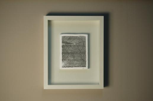 Nadir Valente, Albero, photocopies on paper, 2015