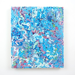 Gregory Hayes, 3rd Amalgamation, acrylic on canvas, 12x14inches, 2016
