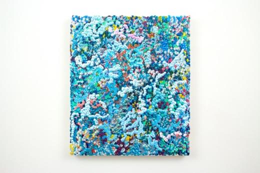 Gregory Hayes, 5th Amalgamation, acrylic on canvas, 12x14inches, 2016