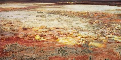 Ruben Brulat, Les souffles, Pigment ink on paper, 2014, 160X80cm