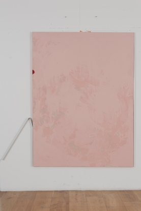 Zehra Arslan, Wisdom tooth, Oil, gouache, metal, emulsion on canvas, 200x150cm, 2016