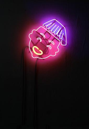 Cristiano Tassinari, Africanella, Neon, 30x45cm, 2016
