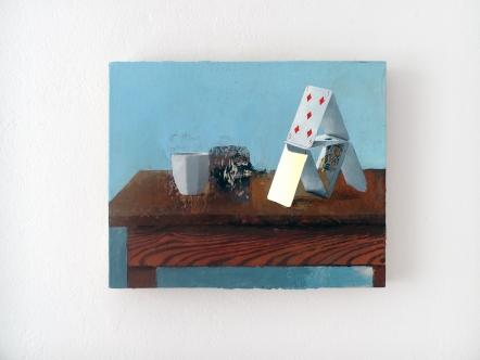 Cristiano Tassinari, Still life (1800kcal), Oil on canvas, 40x50cm, 2018