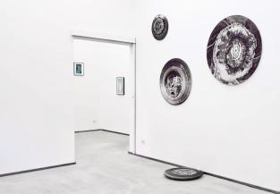 Installation view, Giulia Maiorano, Suspended Islands, 2017