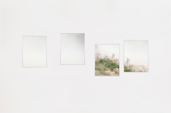Matan Ashkenazy, A Cloud of Dust, 2018, C-type prints mounted on aluminium, 65×50cm each panel
