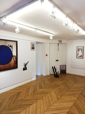 Installation view, Approche Paris 2019