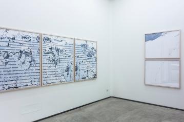 Installation view, Permafrost | Walter Niedermayr, Ncontemporary Milan