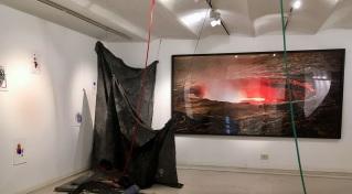 Ruben Brulat, Ardent, Installation view, Ncontemporary Milan 2018