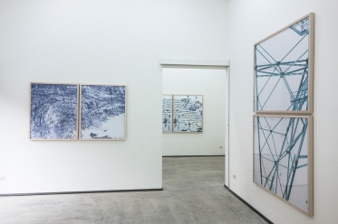 Installation view, Permafrost | Walter Niedermayr, Ncontemporary Milan