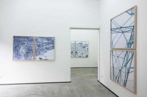 Installation view, Permafrost   Walter Niedermayr, Ncontemporary Milan