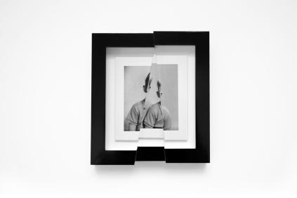Jonny Briggs, Listeners, Laser cut photo, 18x21cm, 2020