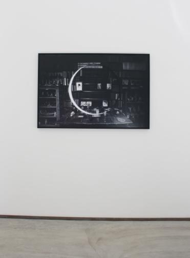 Jonny Briggs, Lucem demonstrat umbra, Installation view